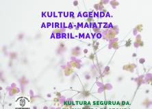AGENDA CULTURAL DE ABRIL Y MAYO